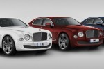 Patriotic Bentley for 95th anniversary of the luxury car company