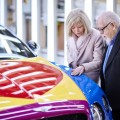 Bentley - Peter Blake Pop Art Bentley set to raise thousands for Charity-