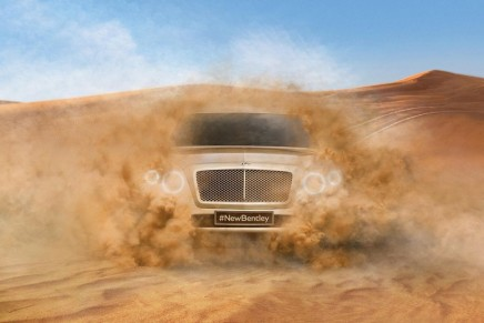First Glimpse of Bentley SUV