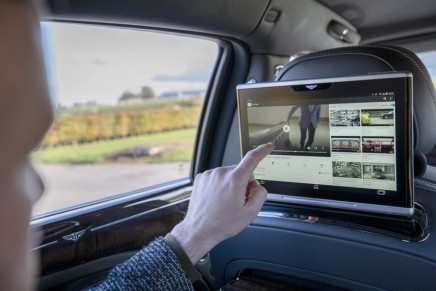 Bentley x Viasat to provide the world's best and most secure in-car technology