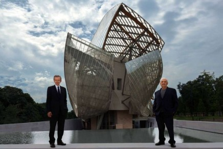 "Traveling to the heart of Fondation Louis Vuitton's ""magnificent vessel"""