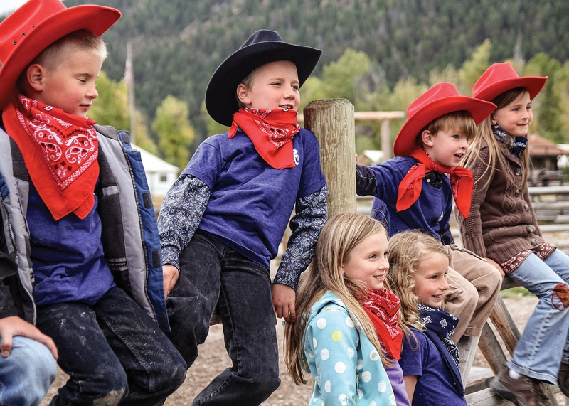 Best Family Program -The Ranch at Rock Creek Philipsburg, Montana