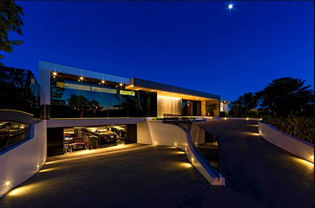 House With Underground Garage beverly hills - the most expensive house ever  sold in beverly