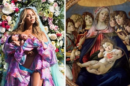 Beyoncé meets Botticelli: how tabloid photos throw new light on old masters