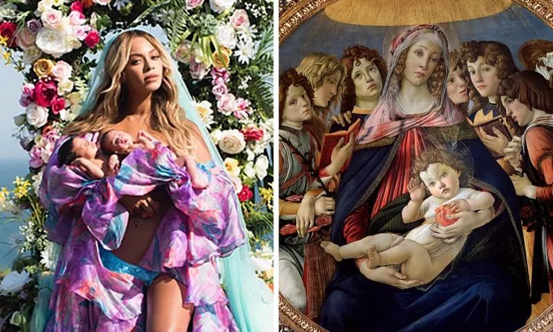 Beyoncé meets Botticelli