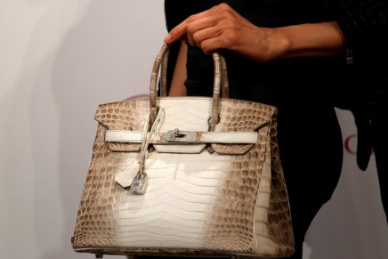 What am I bid? Prices go through the roof at Christie's handbag auction