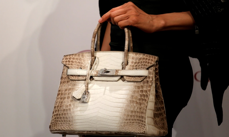 Birkin Himalays handbag at Christie's Hong Kong Auction 2017