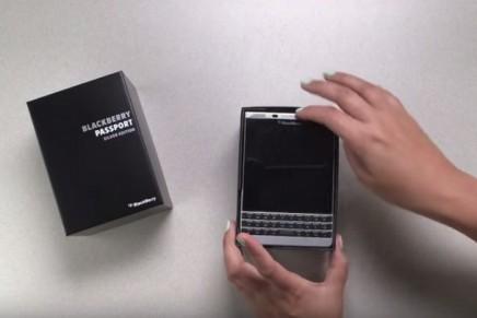 Business tools: BlackBerry Passport Silver Edition