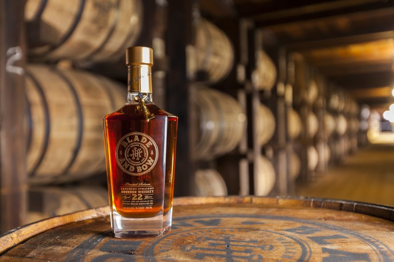 Blade and Bow 22-Year-Old Kentucky Straight Bourbon Whiskey returns with a limited re-release ahead of Derby Day