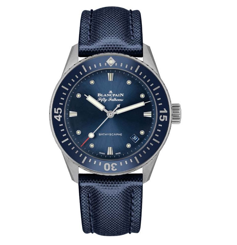 Blancpain Bathyscaphe welcomes a new addition to the family-2017 Baselworld watches