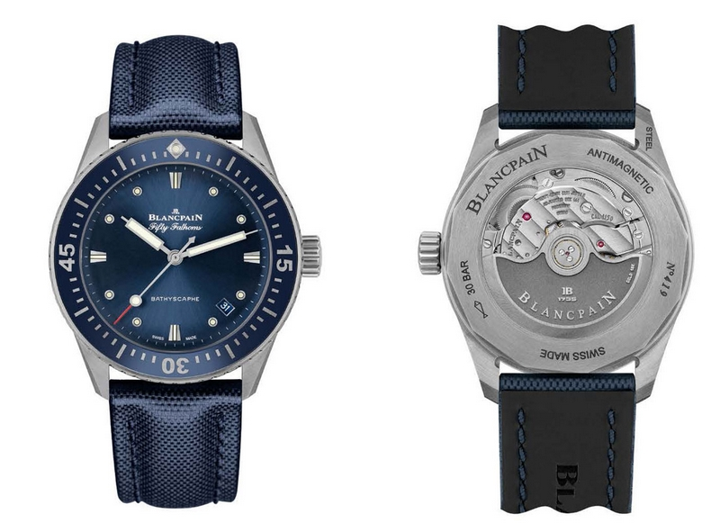 Blancpain Bathyscaphe welcomes a new addition to the family-2017 Baselworld