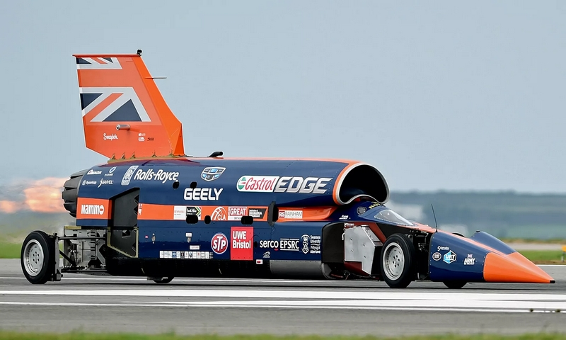 Bloodhound 1,000mph car hits skids as project enters administration