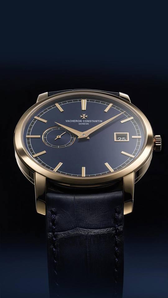Blue is the new black for Vacheron Constantin x Bucherer Traditionnelle-2018-