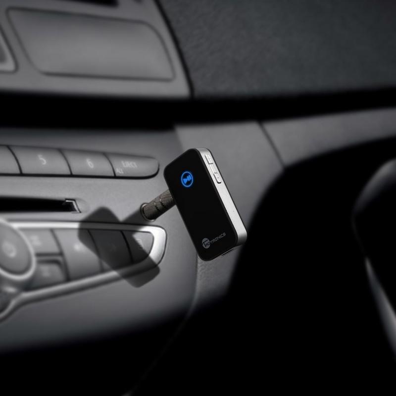 Bluetooth Receiver, TaoTronics Car Kits Portable Wireless Audio Adapter
