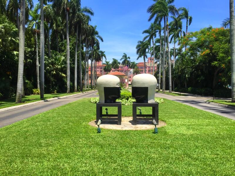 Boca Raton Resort & Club - Heads by Jun Kaneko- The art-infused hotels of The Palm Beaches
