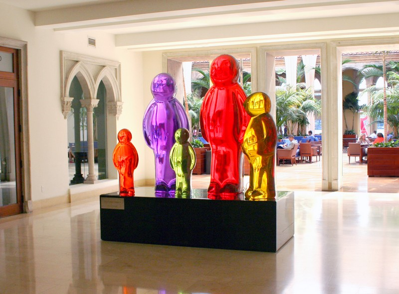 Boca Raton Resort & Club - Jelly Baby Family by Mauro Perucchetti - The art-infused hotels of The Palm Beaches
