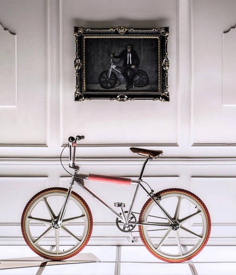 Dior Homme has new Bogarde bikes designed by Kris Van Assche