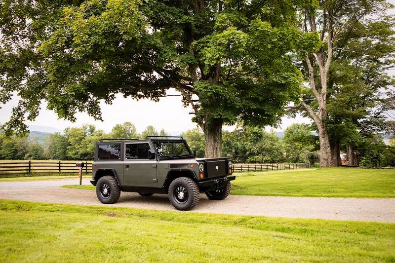 Bollinger B1 - the world's first all-electric sport utility truck-
