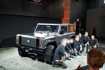 World's First All-Electric Sport Utility Truck To Make Industry Debut at 2017 SEMA Show