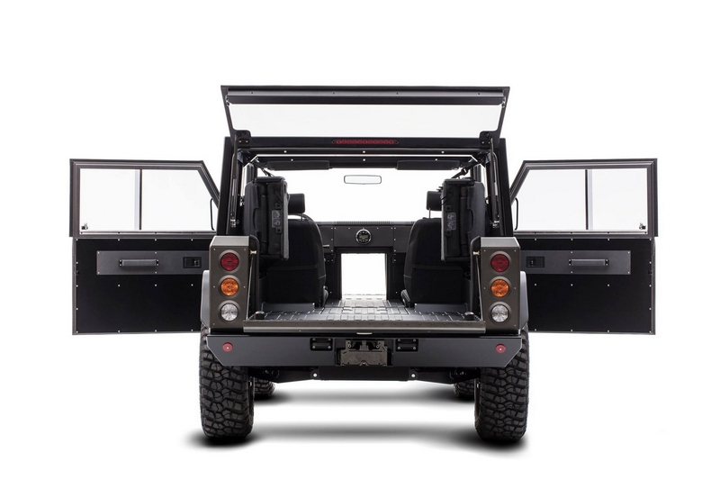 Bollinger B1 - the world's first all-electric sport utility truck-gallery - rear