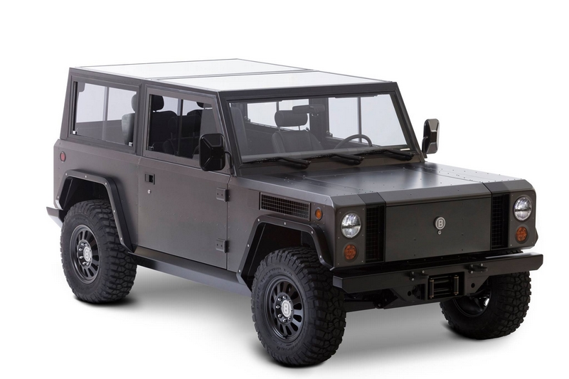 Bollinger B1 - the world's first all-electric sport utility truck-gallery