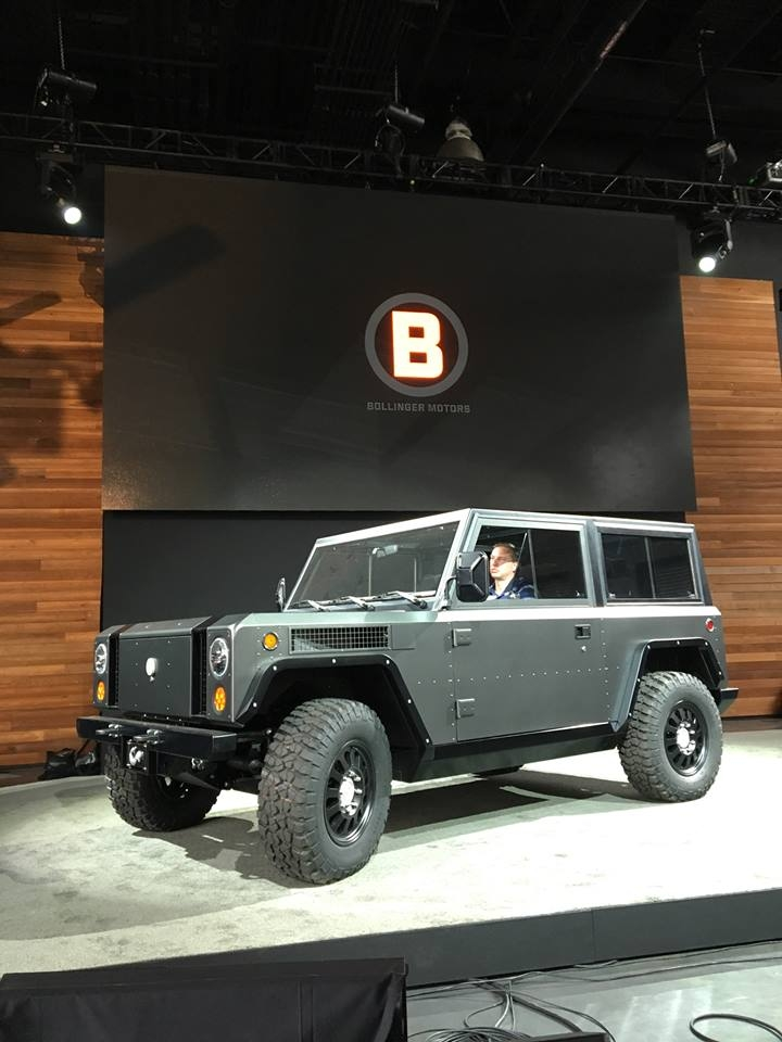 Bollinger B1 - the world's first all-electric sport utility truck