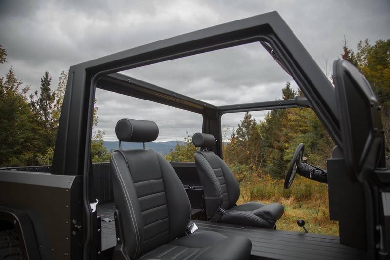 Bollinger Motors - the interior