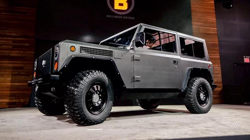 Bollinger Motors - the truck