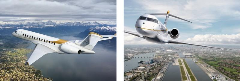 Bombardier Debuts Global 7000 Mock-Up - speed and range