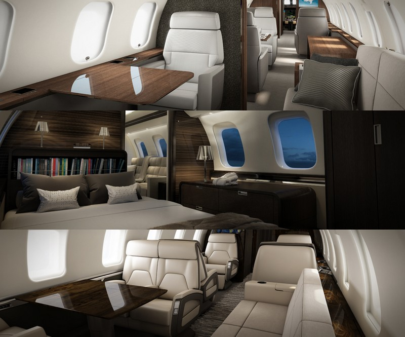 bombardier debuts global 7000 mock up at jetex private terminal dubai. Black Bedroom Furniture Sets. Home Design Ideas