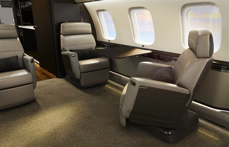Bombardier Nuage Seat for Global 7000 aircraft cabin 2018--