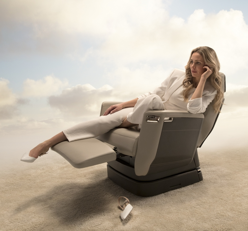 Bombardier Nuage Seat for Global 7000 aircraft cabin 2018