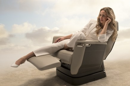 This aviation industry-redefining seat will maximize relaxation on long-haul flights