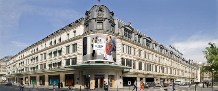 Bon Marche luxury department store