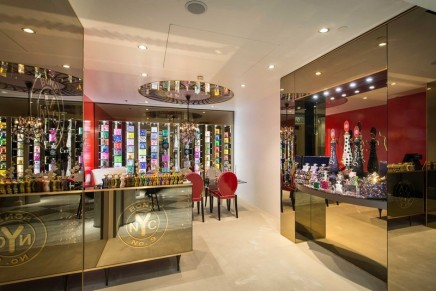 This Salon de Parfums shop is in the vanguard of today's more experiential luxury retail venues