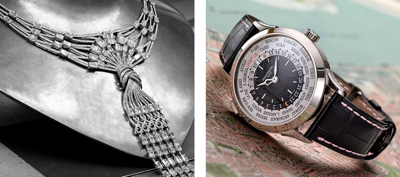 Boodles 220th Anniversary pendant and watch