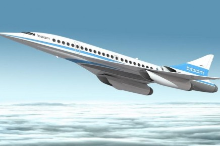 Supersonic commercial aircraft could take to the skies in a little over five years