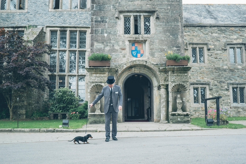 Boringdon Hall Hotel hound-friendly Courtyard Rooms come with blankets, dog beds and treats