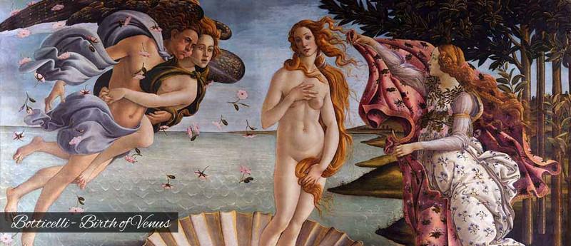 Boticcelli Birth of Venus