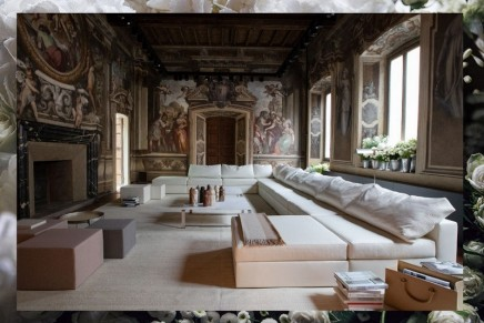 2018 Salone del Mobile Milano: Soft hues, Intrecciato and sculptures by Bottega Veneta Home
