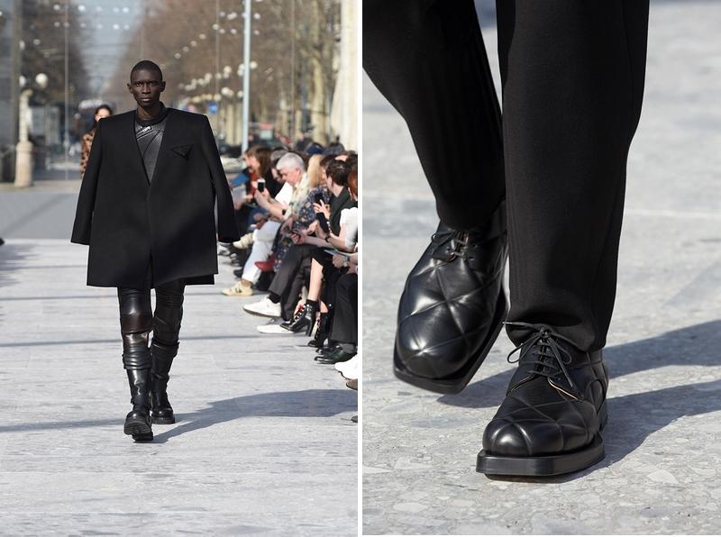 Bottega Veneta - the debut runway collection from creative director Daniel Lee