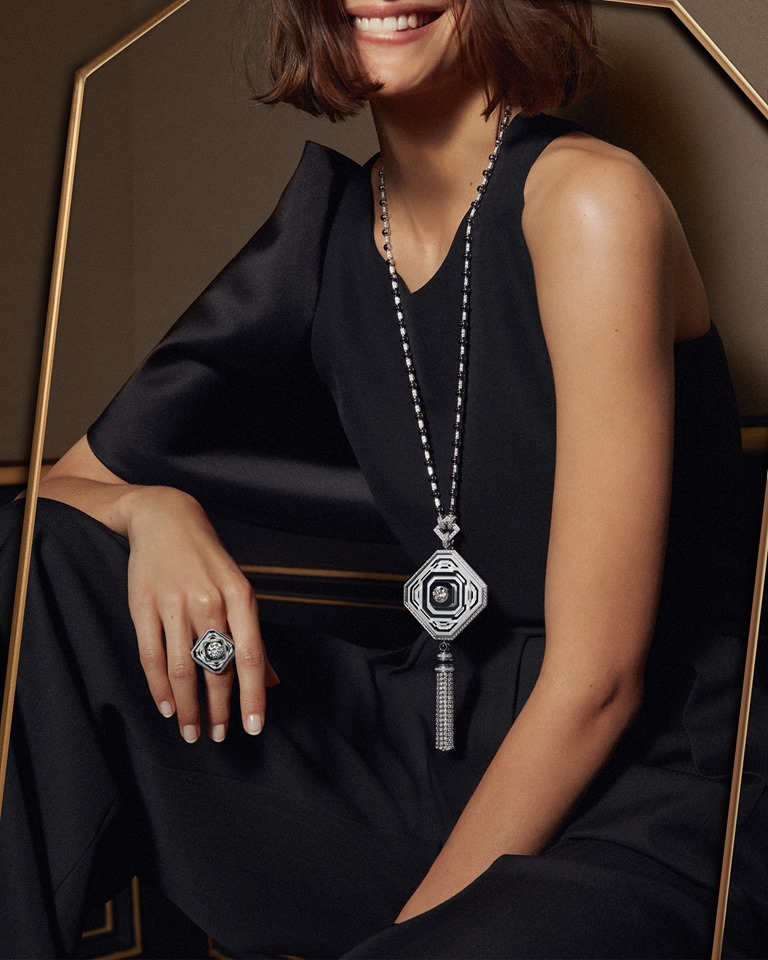 Boucheron 26V - For the very first time, The Maison designs its own stone