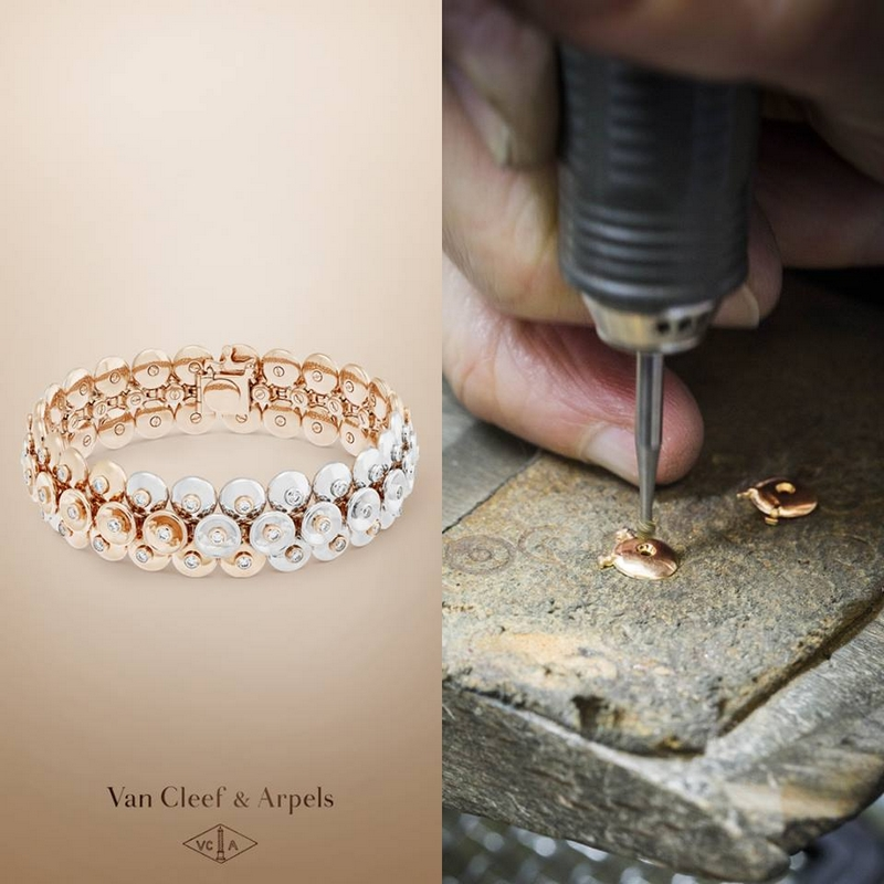 Bouton d'or collection inspired by the Van Cleef & Arpels' heritage-