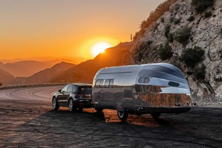 The Ultimate Travel Trailer: The customized Bowlus Road Chief luxury trailer inspired by racing yachts
