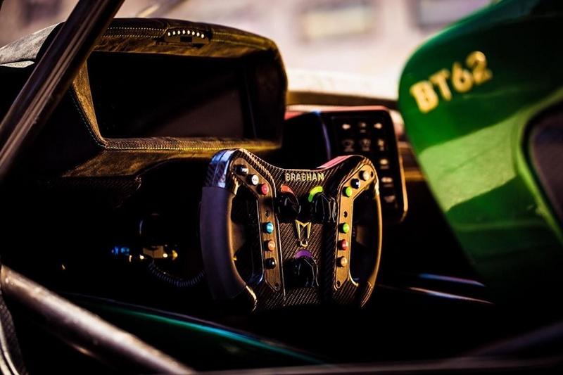Brabham Automotive BT62 interior