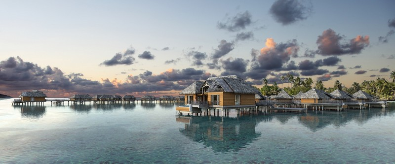 Brando Suite Bora Bora - 2 Bedroom Villa with Pool - Panoramic view