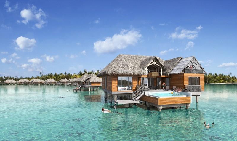 Brando Suite Bora Bora - 2 Bedroom Villa with Pool