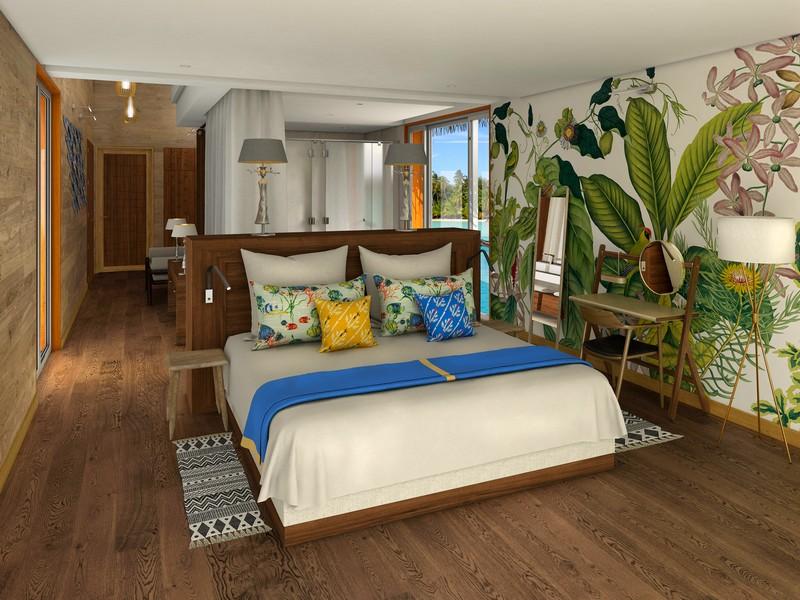 Brando Suite Bora Bora - Master Bedroom #2