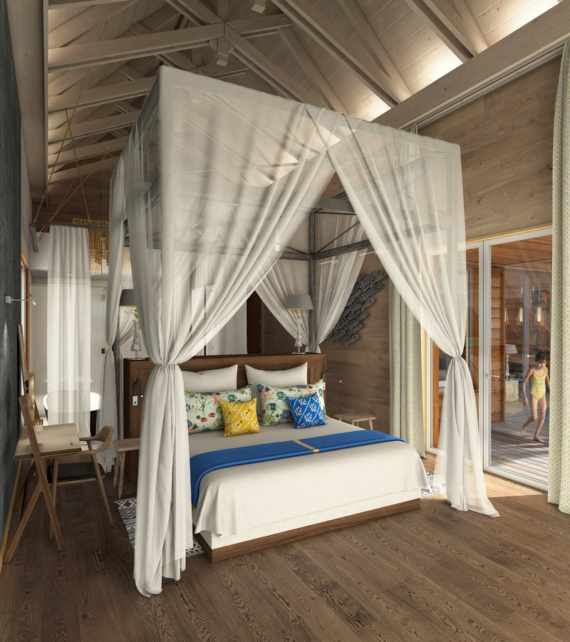 Brando Suite Bora Bora - Master Bedroom