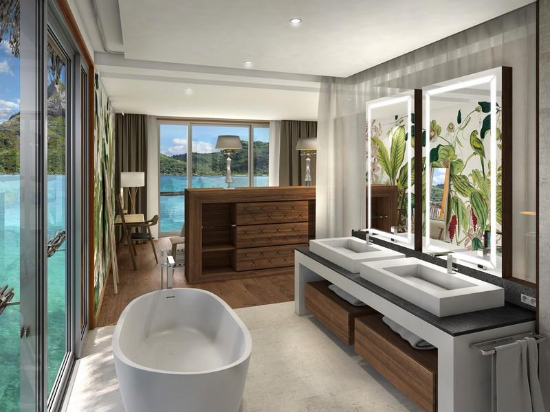 Brando Suite Bora Bora - bathroom
